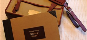 Northern White Rhino goes extinct - Bookbinding Services at World Youth Rhino Summit