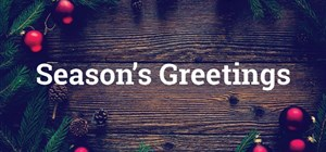 Season's Greetings from our Bookbinders in South Africa